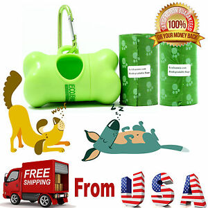 Top-Rated-EcoJeannie-Biodegradable-Dog-Poopbags-40-Bags-20X2-Rolls-1-Dispenser
