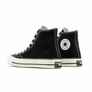 Converse Chuck Taylor All Star Hi 1970s 70s Black Label First String ... e4ab493d0