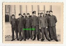 Gruppo di foto soldati in discussero 1943 Polska IIWW PHOTO! (f242
