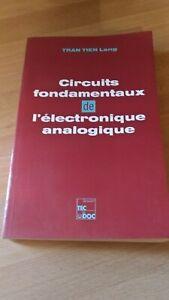Details Sur Livre Circuits Fondamentaux De L Electronique Analogique