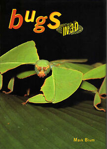 Bugs-in-3-D-by-Mark-Blum-New-Old-Stock-Stereo-Photo-Book-Now-out-of-print