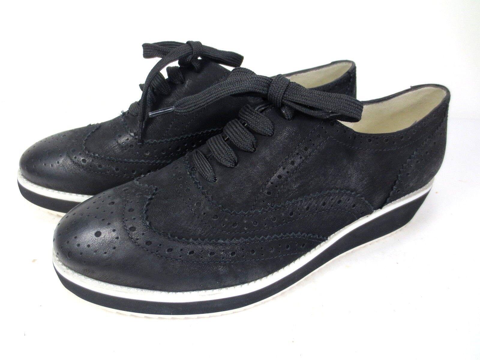 GERRY WEBER  Turnschuhe Leder Schuhe Dandy NEU 119,95 schwarz weiß