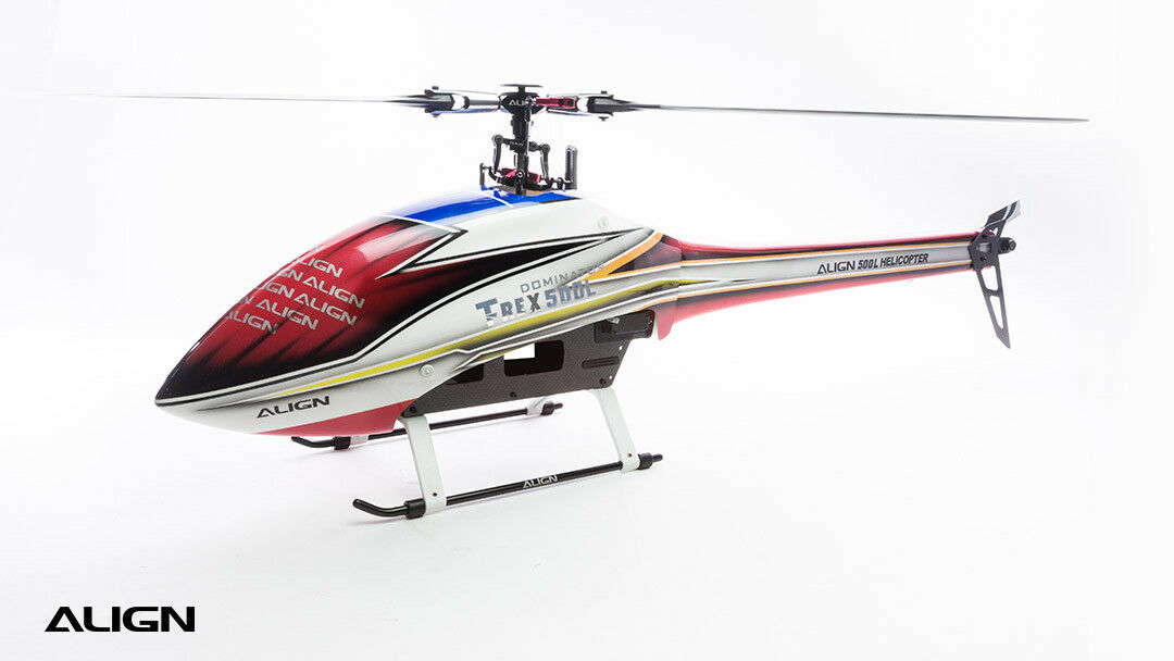 Align T-Rex 500L Dominator Speed Fuselage – Red , bluee and Yellow HF5026T
