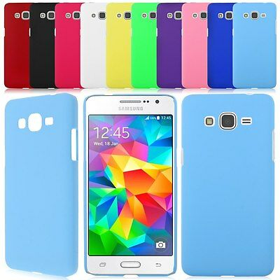 For Samsung Galaxy Grand Prime SM-G530H G5308W Hard Rubberized Back Cover Case