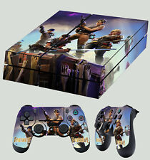 PS4 Skin Fort nite Sandbox Survival Building  Sticker + 2 X Pad decals Vinyl