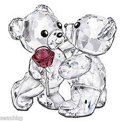 Swarovski A Rose For You Kris Bears Crystal Love Gift (MIB) - 1077419