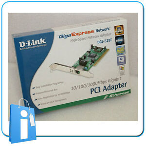 Tarjeta-de-Red-Ethernet-PCI-D-Link-DGE-528T-1000-Mbps-Gigabit-low-profile-Card