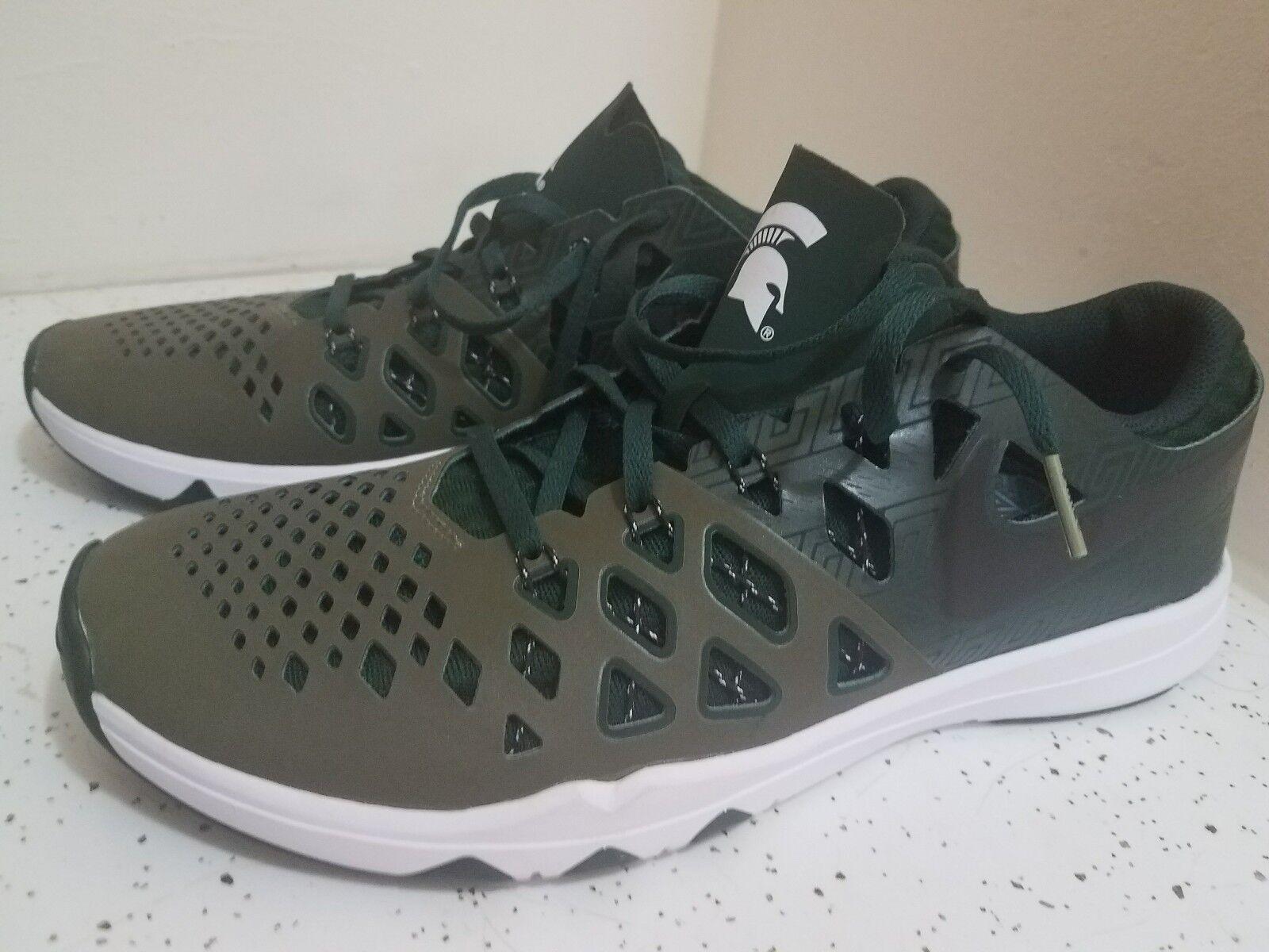 New Verde Nike zapatillas velocidad del tren comodo 4 Amp MSU espartanos comodo tren gran descuento c2bace