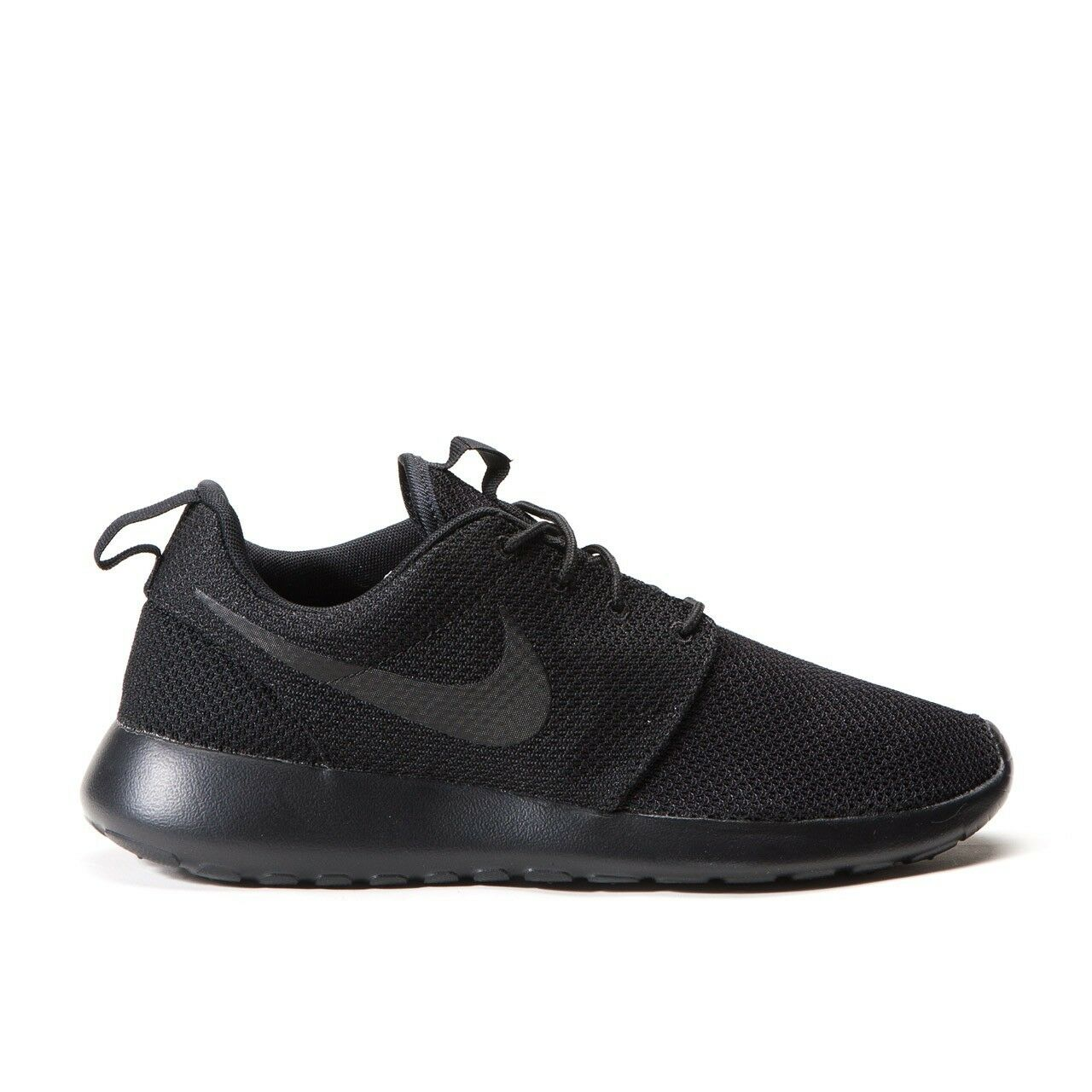 NIKE ROSHE RUN ONE ROSHERUN ALL BLACK 511881-026 Uomo 8 -13