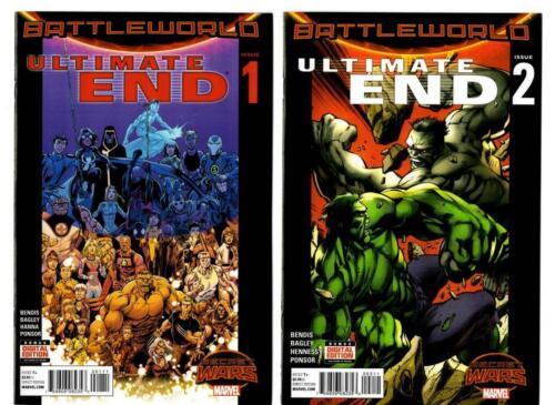 Ultimate End #1-5 Marvel VF//NM to NM Secret Wars Battleworld 2015