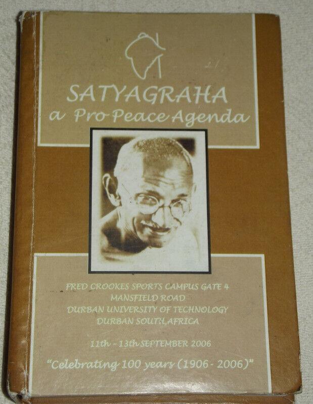 Satyagraha . a Pro .. Peace Agenda