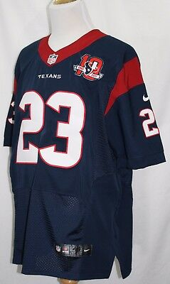 ARIAN FOSTER Nike Size 48 Jersey Houston Texans 10th 2002-2012 Sewn Never Worn   eBay