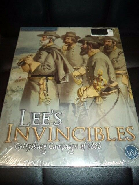 Lee's Invincibles Gettysburg Campaign of 1863 Worthington War Board Game New