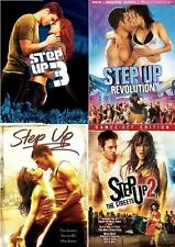 STEP UP 1 2 3 4 DVD Set Complete Films The Streets Revolution Movies Lot Dance 5