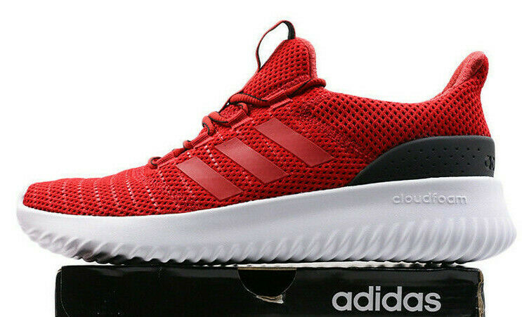 Adidas CloudFoam Ultimate men's size 8.5 - Red   black   white - NEW