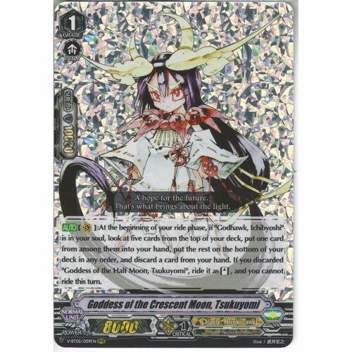 V-BT05//009EN RRR Goddess of the Crescent Moon Tsukuyomi Cardfight Vanguard TCG