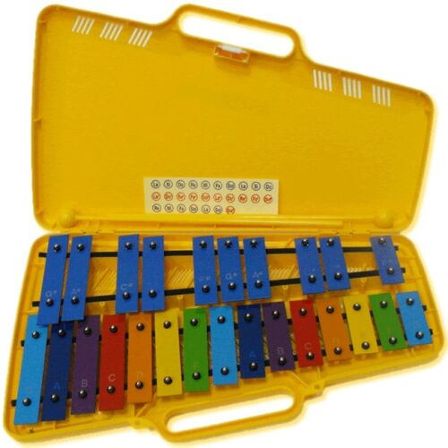 AX25N3 Metallofono 25 piastre colorate Glockenspiel ANGEL AG