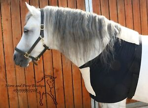 Anti rub vest Lycra horse bib navy lycra horse vest All sizes