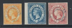 Ionian-Islands-Sc-1-3-used-1859-issues-of-British-Protectorate-Complete-Cert