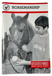Vintage Pamphlet Book Horsemanship Boy Scout Of America Merit Badge Series 2003
