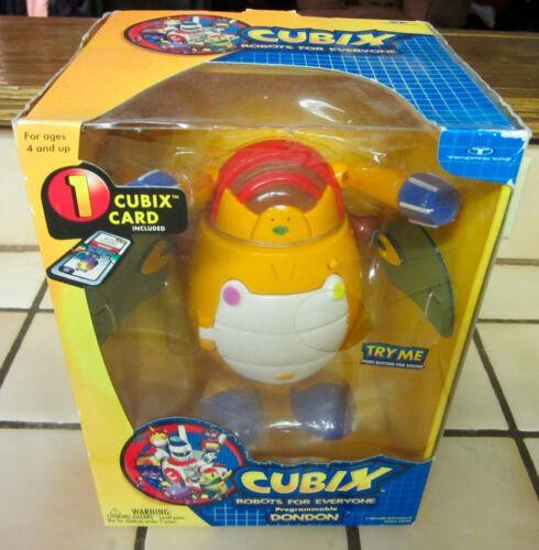 Cubix Des Robots Pour Tout Le Monde Programmables Dondon 2001 Trendmasters Nouveau 96882840841
