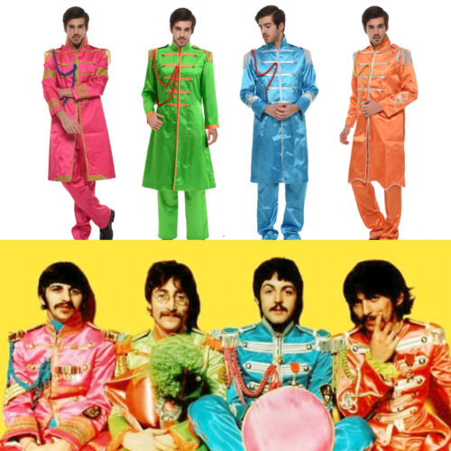 The Beatles Sgt Pepper/'s Lonely Hearts Club Band John Lennon Costume Cosplay