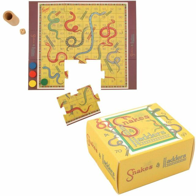 Mini Vintage - Snakes and Ladders