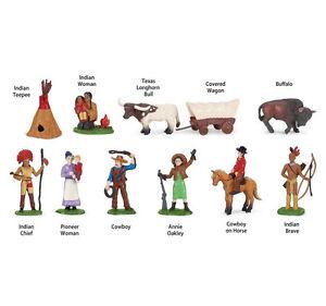 WILD WEST PIONEER Toob Safari Ltd. # 680904 FREE SHIP w/$25+ in USA