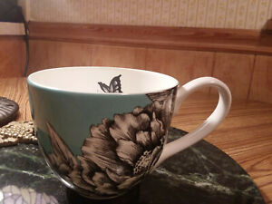 "Latte or Tea Mug PORTOBELLO offers /""Christmas Greeting/"" Cappuccino Coffee NEW"