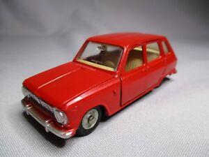 Ta060 Dinky Toys Fr Meccano 1/43 Renault 6 Ref 1416 Bel Etat