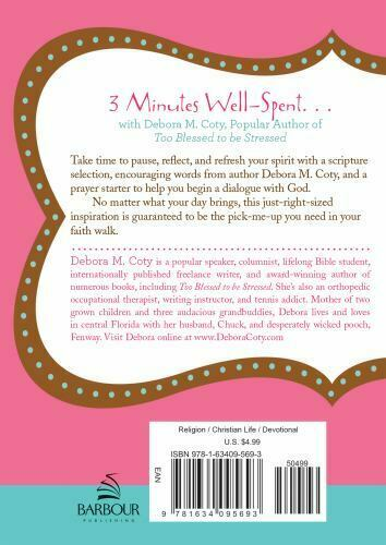 Too Blessed To Be Stressed 3-Minute Devotions For Women - $4.95