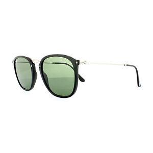 57b284ecf4 Ray-Ban Sunglasses 2448N 901 Black Silver Green G-15 8053672672213 ...