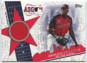 Aroldis Chapman 2019 Topps All Star Game Jersey Relic #ASSR-AC NY Yankees