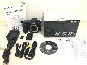Mint-in-Box-PENTAX-K-5-IIs-16-3MP-Digital-Camera-from-JAPAN-Fast-Shipping