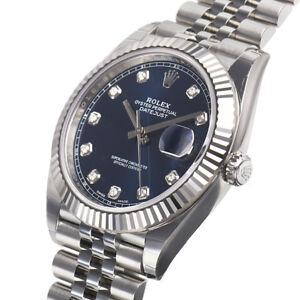 Rolex Datejust 41mm 126334 Fluted Bezel Jubilee Bracelet ...