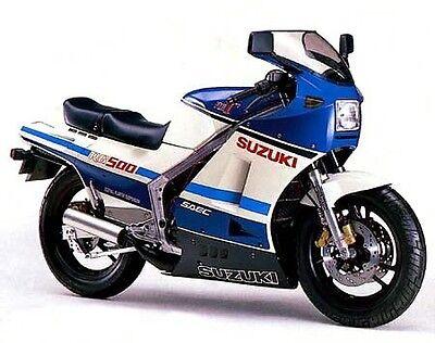 Suzuki RG125 1992-1996 stainless steel fairing bolts