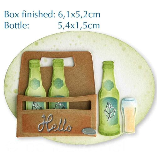 Beer party set Metal Cutting Dies Stencils Scrapbook Paper Card Decor @ami  a2d