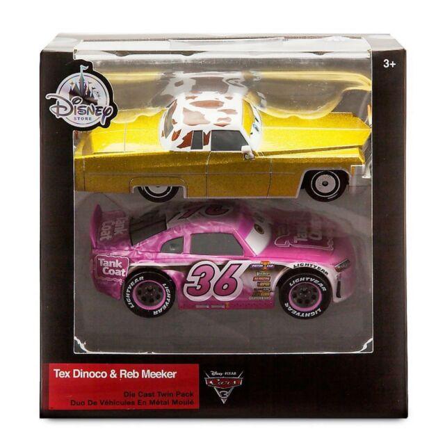 Disney Cars 3 Tex Dinoco And Reb Meeker Die Cast Car 3 Toy Lightning