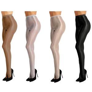 verschiedenes Design riesiges Inventar beste Angebote für Details zu Frauen Glanz Seidenstrümpfe Seidenstrumpfhose Feinstrumpfhose  Transparent Tights