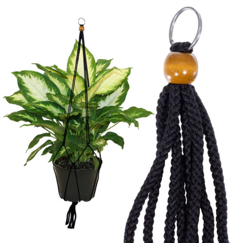 Multiple Color Options Macramé Plant Hanger Indoor /& Outdoor 36 Inches Long