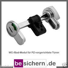 WC-Modul Bad-Modul für Profilzylinder vorgerichtete Türen sehr praktisch