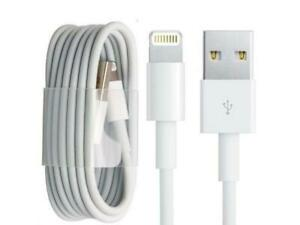 Details about 2x USB Lightning Charger & Data Sync Cable Lead Apple iPhone 5 5s 5c 6 7 8 X XR