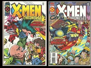 ° X-Men Chronicles. the Dawn of Apocalypse 1 & 2 ° US Marvel Wolverine vs X-MEN!