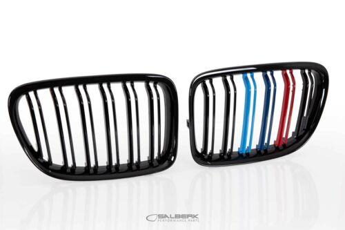 **AKTION** schwarz hochglänzende Nieren BMW X1 E84 Frontgrill salberk 8401DLF