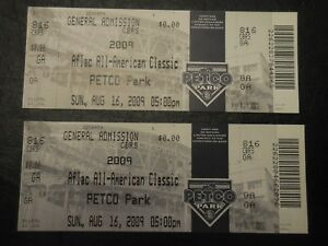 2009-Aflac-Game-All-American-Classic-Ticket-Kris-Bryant-Bryce-Harper-Unused-cubs