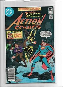 ACTION COMICS #521 1981 FINE 6.0 6134 SUPERMAN VIXEN