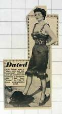 1952 Lilli Palmer Wearing Black Satin And Lace Underwear For Period Film Poster