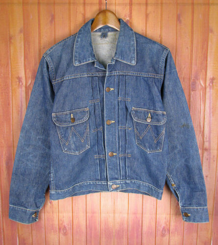 Wrangler 11MJ Prototype Early Denim Jacket 40s Vin