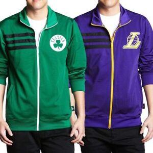comprar real mayor selección originales Detalles de Adidas NBA Negrita Chaqueta de Chándal Boston Celtics la Lakers  HOMBRE