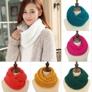 Unisex-Women-Winter-Warm-Infinity-Circle-Cable-Knit-Cowl-Neck-Long-Scarf-Shawl
